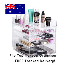 Makeup Storage Clear Cosmetic Cube Organiser Acrylic Drawers