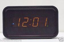 Geneva Clock Co. Bluetooth Dual Alarm Clock Speakerphone - USB Charger & Speaker