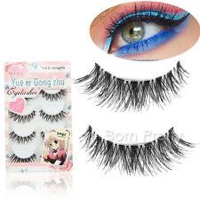 5 Paar falsche künstliche Wimpern Handmade Seamless Eyelashes Makeup #HW-8