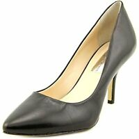 INC International Concepts Womens Zitah Leather Pointed Toe, Black, Size 6.5 rZz