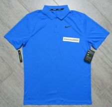 NWT Nike Dri Fit Victory Solid Golf Polo Sz Medium 100% Authentic 891857 406