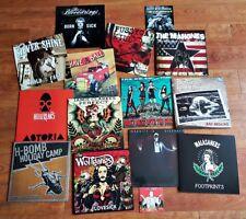Wolverine Vinyl! Nimm 3 aus 13 LPs zum Sonderpreis! Punk Psychobilly Rockabilly