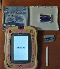 Vtech Storio 2 in rosa / pink + Minny Mouse Spiel, Lern-und Spiel Tablet