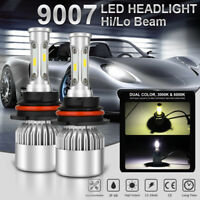 1050W 157500LM CREE CSP 9007 HB5 LED Headlight Kit Bulb High Low Beam Power HID
