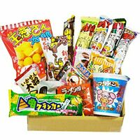 Japanese Candy snack 13 pcs with Cup Noodles ramen BUTAMEN set BOX