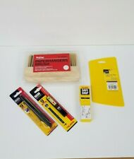 Wallpapering Tool Kit Paperhangers Brush, Paperwiz, Tajima Driver Cutter etc