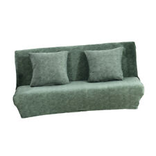 2 or 3 Seats Sofa Couch Slipcover Washable Furniture Protector Pine Green S