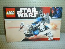 LEGO ® Star Wars recipe 7667 elettricità Trooper Pack instruction BA ungelocht