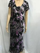 MONTI, AUST MADE SIZE 10 GORGEOUS FLORAL SPECIAL OCCASION DRESS
