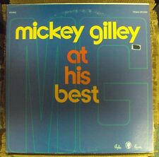 MICKEY GILLEY At His Best LP OOP mid-70's country Paula
