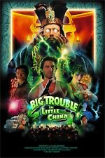 Big Trouble In Little China Movie Poster Lo Pan High Quality Giclee Lmt Edt 250