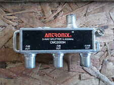 Antronix CMC2003H 3-Way Splitter *FREE SHIPPING*