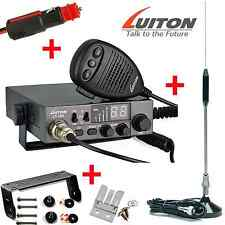 CB Kit de démarrage Luiton LT-298 40 Channel UK/EU AM FM Incl Antenne & Cig Plug