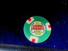 """""""VERY RARE""""$25""""GOLDEN NUGGET""""AU CR#N1111"""" CODEW '500-599 ONLY 8,500 MADE IN 1975"""