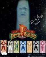 DAVID J. FIELDING Signed POWER RANGERS 8x10 ZORDON Photo Autograph JSA COA Cert