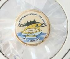 BSA Hatpin - Rarotonga - Cook Islands Boy Scouts -