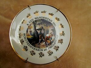 Bavarian collector plate