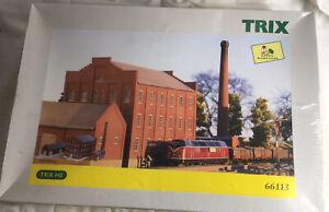 Trix 66113 H0 Bausatz Zuckerfabrik OVP