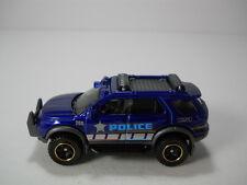 Matchbox Ford Explorer Police Truck Blue Paint 1/64 Scale JC12