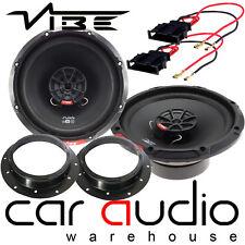 VW Sharan 2010 On MK2 Vibe SLICK 6 480 Watts 2 Way Front Door Car Speakers Kit