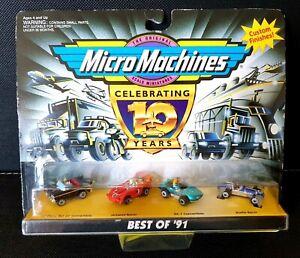 Micro Machines Best of '91 Custom Finishes (1996) Galoob