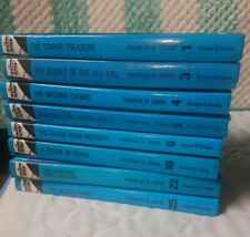 LOT OF 8 HARDY BOYS  HARDCOVER BOOKS USED #1,3,4,5,6,16,22,&25