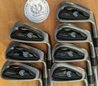 Cleveland CG7 TOUR BLACK PEARL Irons 4 - PW - DYNAMIC GOLD S300 SHAFTS