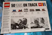 LEGO 4002016 - 50 Years on Track - SIGILLATO + Cartolina Auguri