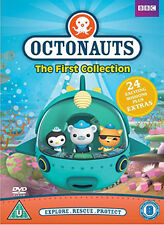 DVD:OCTONAUTS - THE FIRST COLLECTION - NEW Region 2 UK