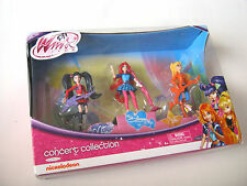 Winx Club Concert Collection RARE Collectible Nickelodean Musa Bloom Stella NOS