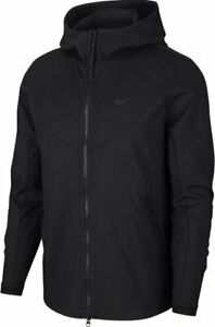 Nike Sportswear Tech Pack Knit Jacket Mens Hoddie Black Multi Size Casual Top