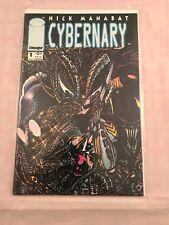 (MAY 1993 Image) #1 Image Comic BOOK NICK MANABAT CYBERNARY EX-NM BAG&BOARD