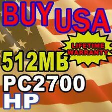 512MB HP Business Notebook nc6000 nc8000 Memory RAM