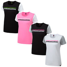 2020 Muscle Pharm Ladies Short Sleeve T-Shirts - Fitted Top Gym Fitness Training