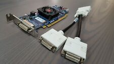 Dell Inspiron 580s 545s 537s 535s 531s 530s DMS-59 Video Card w/Dual DVI Cable