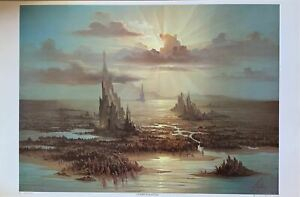 """Overpopulation"" by John Pitre Poster 23 X 35"