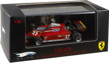 HOT WHEELS ELITE T6269 - FERRARI 126 CK G. VILLENEUVE - MONACO GP 1981 1/43