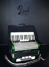 VINTAGE GERMAN TOP PIANO ACCORDION WELTMEISTER 60 bass,8reg.+HARD CASE~EXCELLENT
