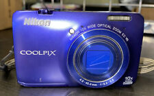 Nikon COOLPIX S6300 16 MP Digital Camera with 10x Zoom NIKKOR Glass Lens