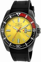 Invicta Pro Diver 21448 Men's Chartreuse Gunmetal ToneAnalog Date Watch