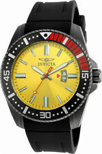 Invicta Pro Diver 21448 Men's Chartreuse Gunmetal ToneAnalog Date Watch