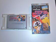 Area 88 (onu Squadron) OVP Super Nintendo Capcom jap.
