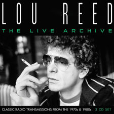 Lou Reed : The Live Archive CD Box Set 3 discs (2018) ***NEW*** Amazing Value