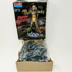 Creature from the Black Lagoon - Monogram 6490 - Some Parts no Manual model kit