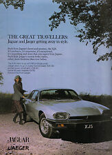 Jaguar XJS 1976 Original Advertising Promotion Sales Brochure With Jaeger