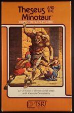 Theseus and the Minotaur- Apple II - CIB - Disk Version - Complete TSR