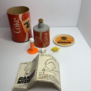 Vintage Mattel 1970 Canned Wizzzer Coca-Cola Coke — Whizzer of a wizzer and can!
