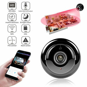Vision nocturne de caméscope de sécurité IP Wifi de caméra espion HD 1080P mini