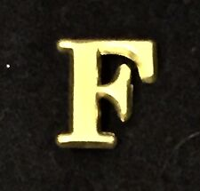 Reproduction  Civil War Company Letter F Brass Kepi Badge