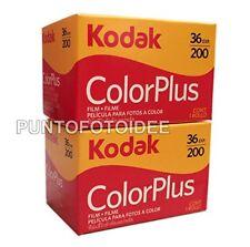 2rolls Kodak Color Plus 35mm 20036pack of 2. Film Photography